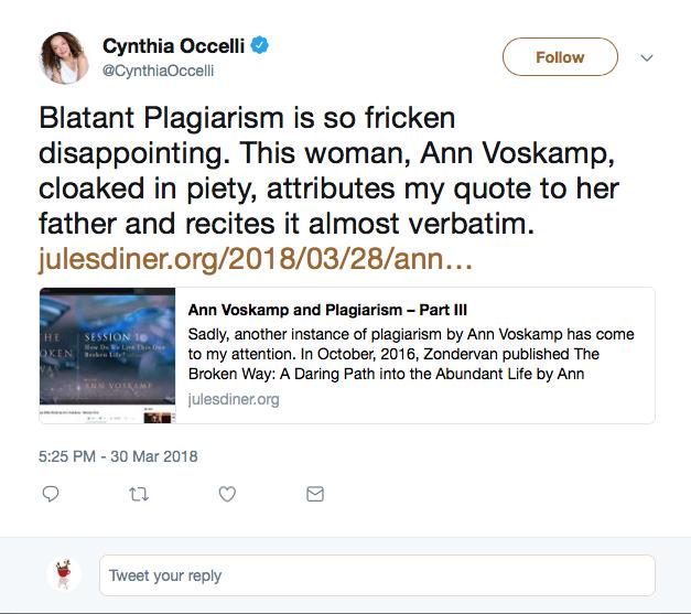 Cynthia Occelli II